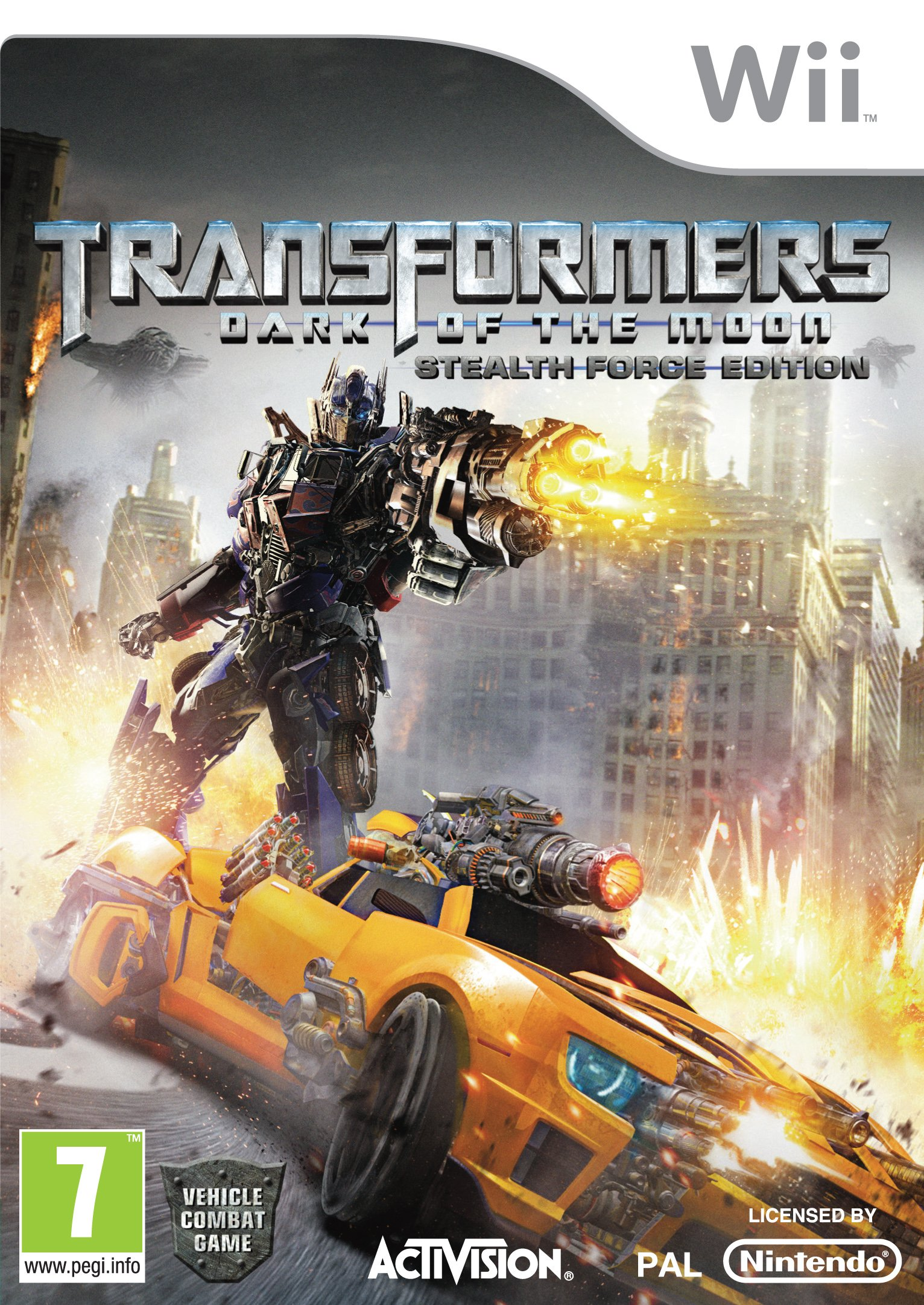 Activision Transformers: Dark Of The Moon - Stealth Force Edition - Bundle (Wii)