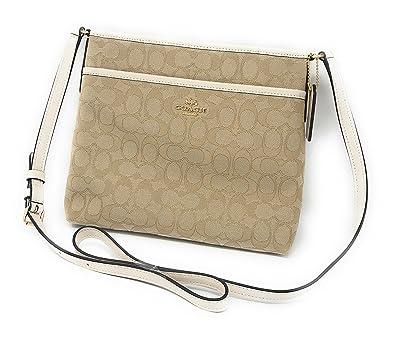 510ea630bf2a COACH FILE CROSSBODY IN SIGNATURE JACQUARD F29960 IMDQC  Handbags   Amazon.com