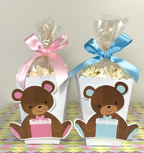 Me To You Tatty Teddy Bear Popcorn Boxes Set of 10 Popcorn Bags Me To You Teddy Bear Birthday Party Decoration