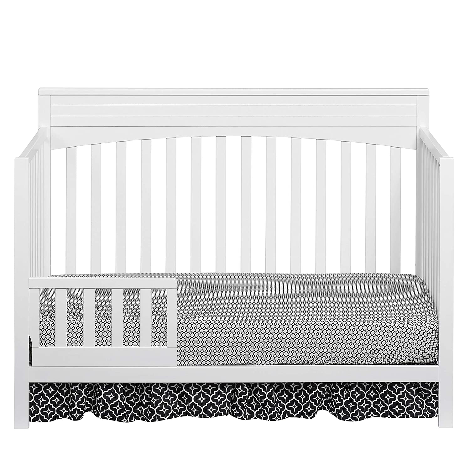 Oxford Baby Harper Toddler Guard Rail for 4-in-1 Convertible Crib Dove Gray