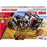 Meccano Erector, Motorized Off Road Racer, 25 Vehicle Model Building Set, 406 Pieces, for Ages 9 and up, STEM…