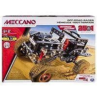 Meccano - 6037616 - Jeu de Construction - Tout-Terrain Motorisé 25 Modèles