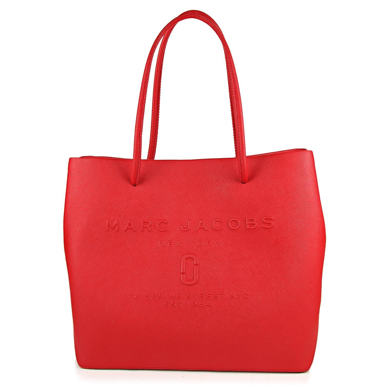 マークジェイコブス(MARC JACOBS) トートバッグ M0011046 605 ロゴ ショッパー レッド 赤 [並行輸入品] B078XQ5HP8