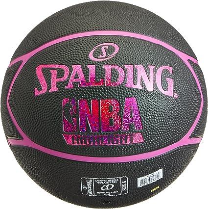 Spalding NBA Highlight Outdoor 83-497Z Balón de Baloncesto, Unisex ...