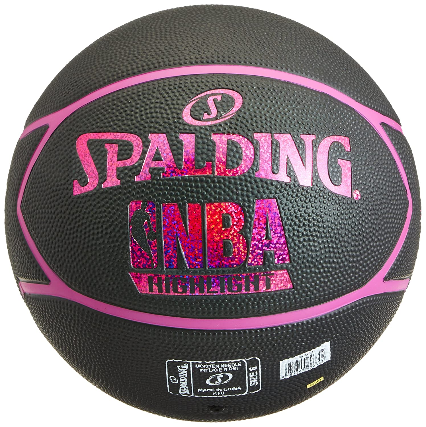 Spalding NBA Highlight Outdoor 83-497Z Balón de Baloncesto, Unisex ...