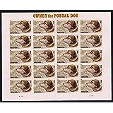 Owney the Postal DOG Sheet of 20 Forever Stamps Scott 4547