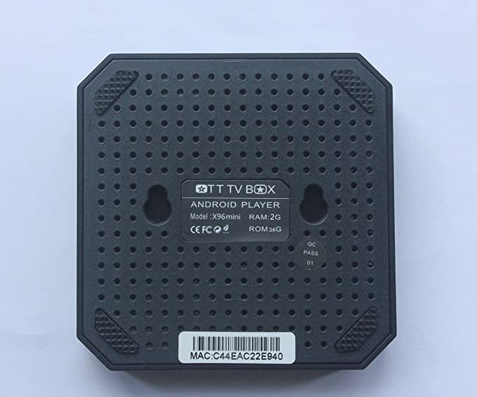 ZBFYZQ X96 Mini Android TV Box Amlogic S905W Quad Core 2GB 16GB UHD H.265 2.4G WiFi 4K Media Player X96mini Set Top Box: Amazon.es: Electrónica