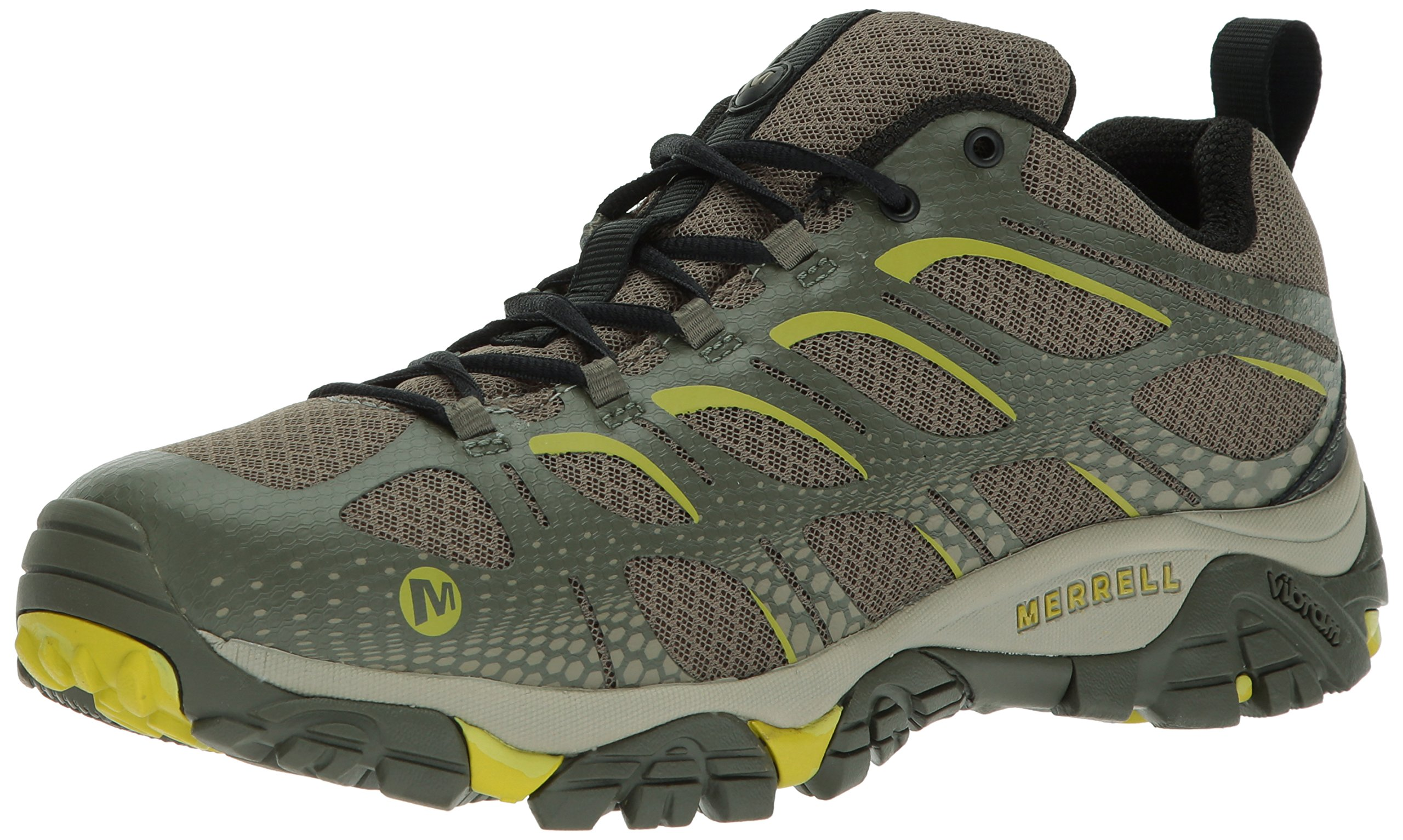 Merrell Men's Moab Edge Hiking Shoe, Dusty Olive, 10.5 M US by Merrell