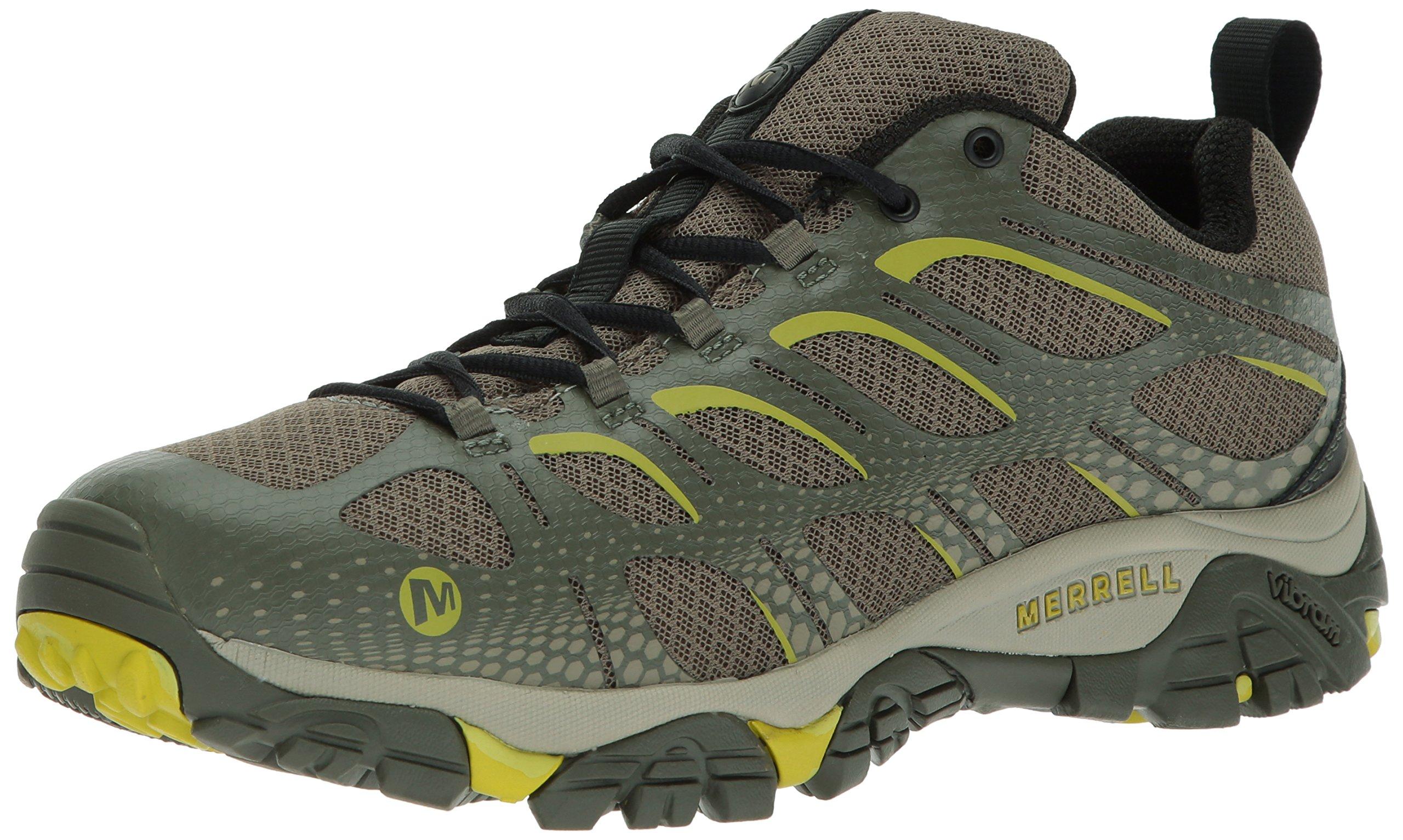 Merrell Men's Moab Edge Hiking Shoe, Dusty Olive, 10 M US