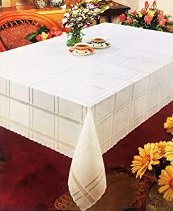 Better Home Lace Fashion Tablecloth Smooth Premium Vinyl, 70