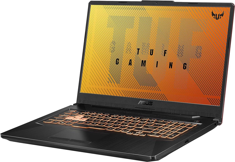 Asus Tuf Gaming F17 Gaming Laptop 17 3 Fhd Ips Type Display Intel Core I5 10300h Geforce Gtx 1650 Ti 8gb Ddr4 512gb Pcie Ssd Rgb Keyboard Windows 10 Bonfire Black Fx706li Rs53 Computers Accessories