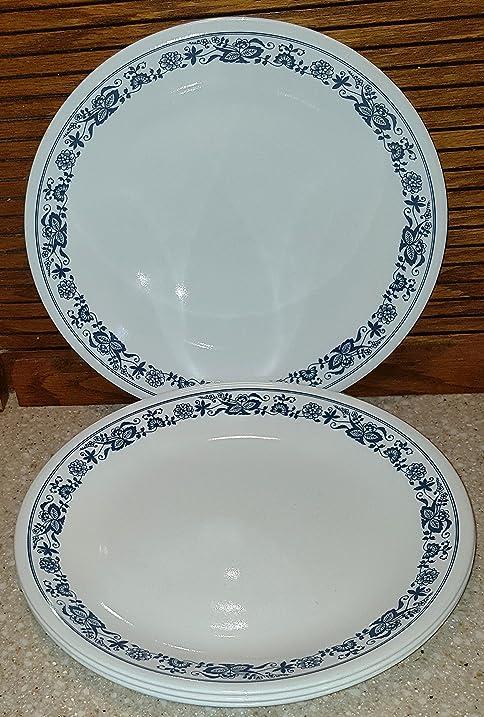 Corelle Blue Onion Pattern Single Replacement Dinner Plate & Amazon.com | Corelle Blue Onion Pattern Single Replacement Dinner ...