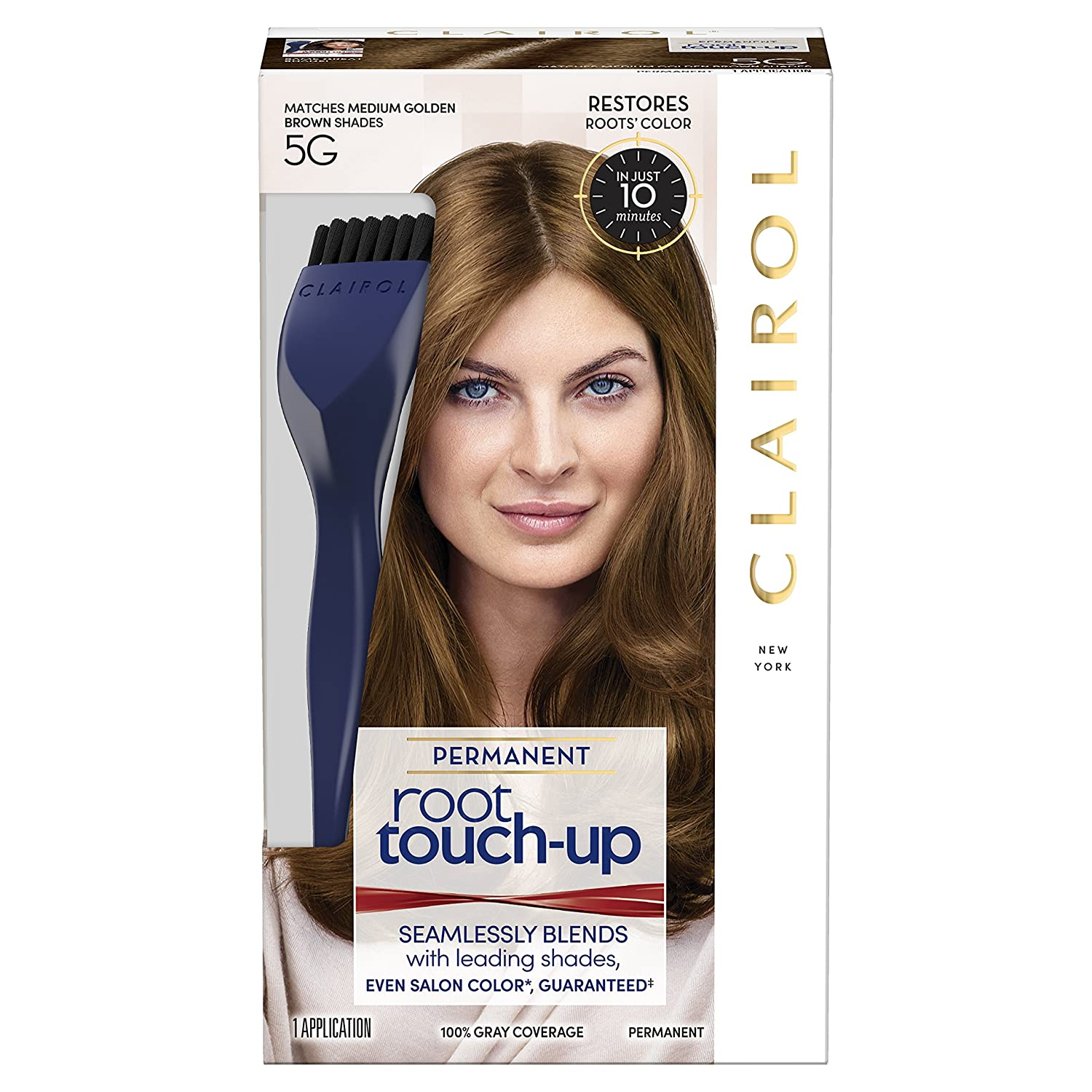Clairol Nice 'n Easy Root Touch-Up 5G Medium Golden Brown HFC PRESTIGE INC