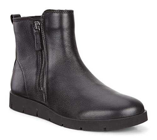 ECCO Bella Wedge Ladies Casual Boots Black Price Shoes