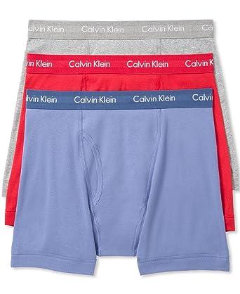 Calvin Klein Underwear Men s 3 Pack Cotton Classic Boxer Briefs ... 765c65b6741