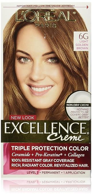 loreal preference hair color lightest golden brown best