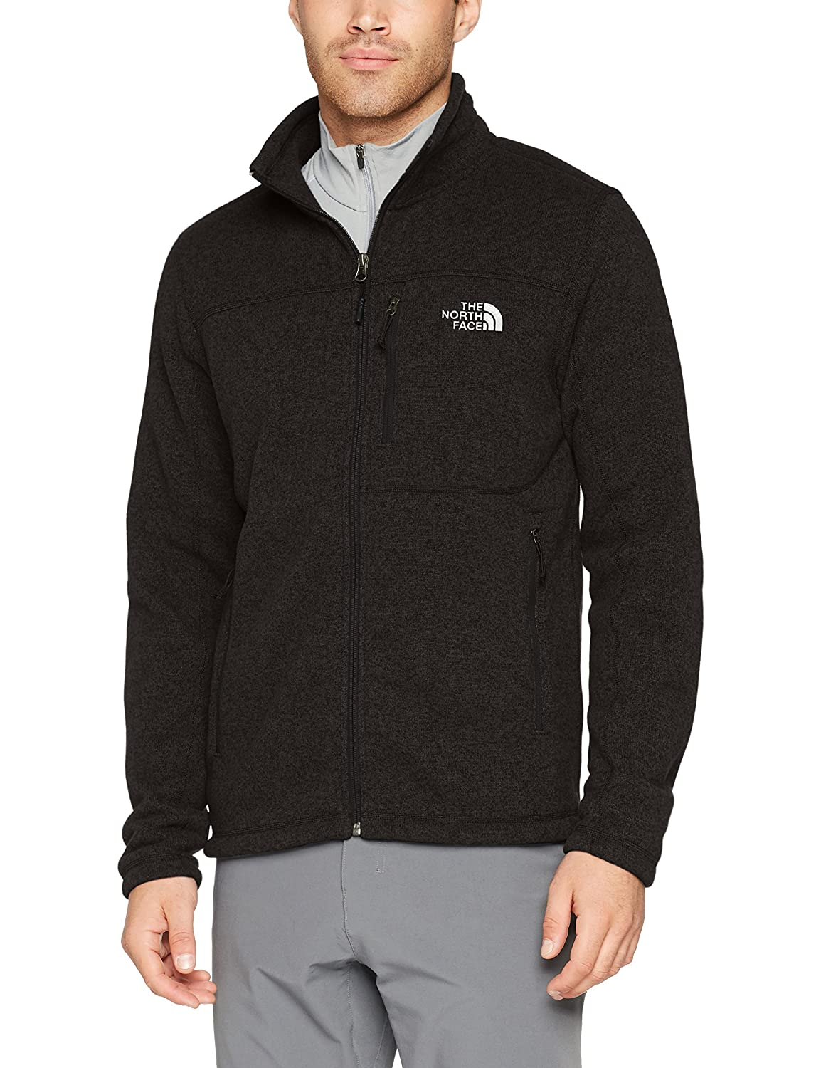 The North Face Gordon Lyons Full Zip Mens TNF Black Heather X-Large The North Face Inc T933R5KS7. XL