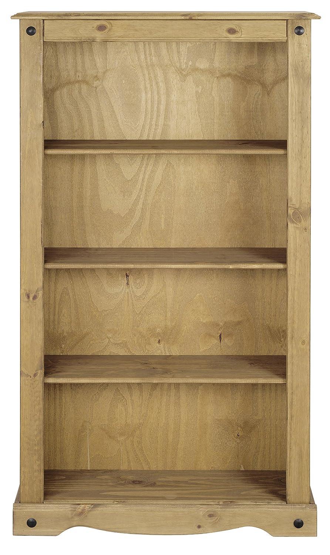Corona Medium Bookcase, W 83.5cm x D 29cm x H 150cm Mews P2401-CR