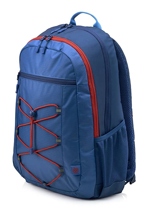f9768118b8 Image Unavailable. Image not available for. Color  HP 15-inch Laptop Sport  Backpack (Blue Red) (1MR61AA)