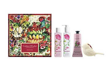 Crabtree & Evelyn Rosewater Body Care Trio Gift Set
