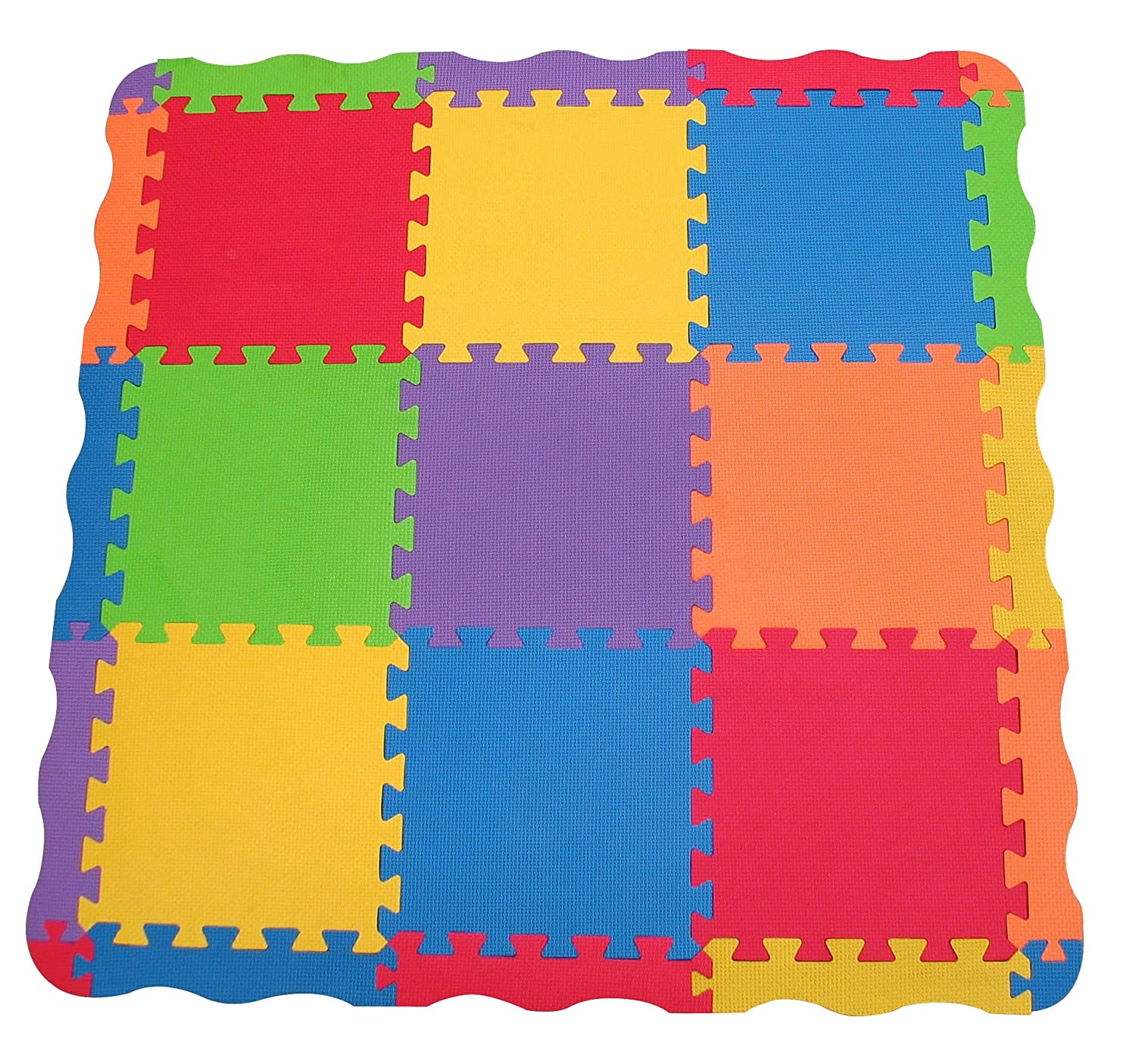 amazoncom  edushape solid play mat  count  baby play mat  baby -