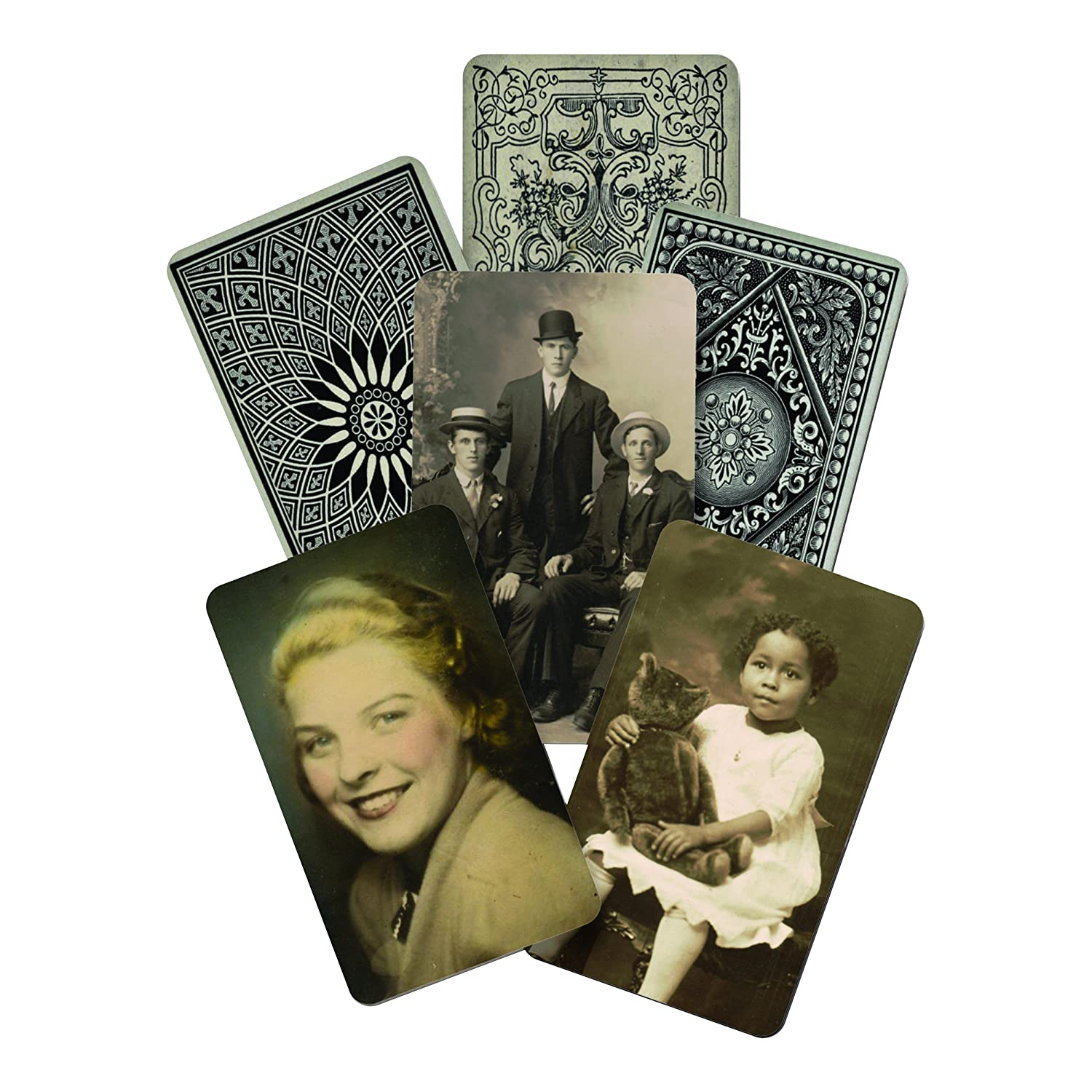 Found Relatives Vintage Portraits by Tim Holtz Idea-ology, 5 x 3 Inches, Pack of 24 Photos, TH93121 Advantus Corp.