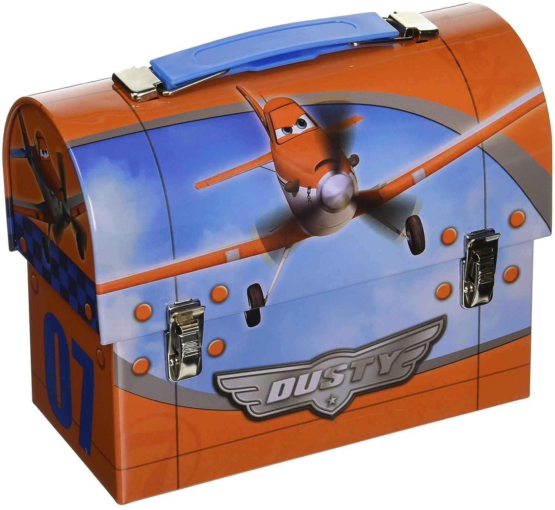 Orange//Blue Amscan DisneyPlanes 2 Birthday Party Metal Lunch Box Favor 5 1//8H X 6 3//4W X 3 1//4D