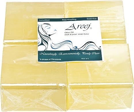 Areeja - Jabón hipoalergénico biodegradable de aceite de oliva ...