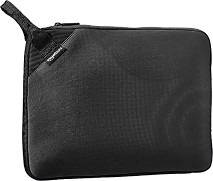 With Retractable Handle Basics 13.3 Professional Laptop Sleeve Black