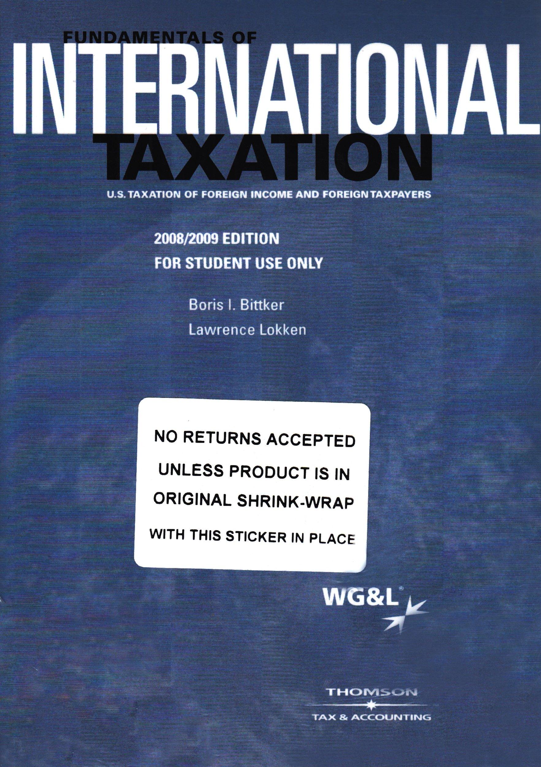 Fundamentals of International Taxation pdf