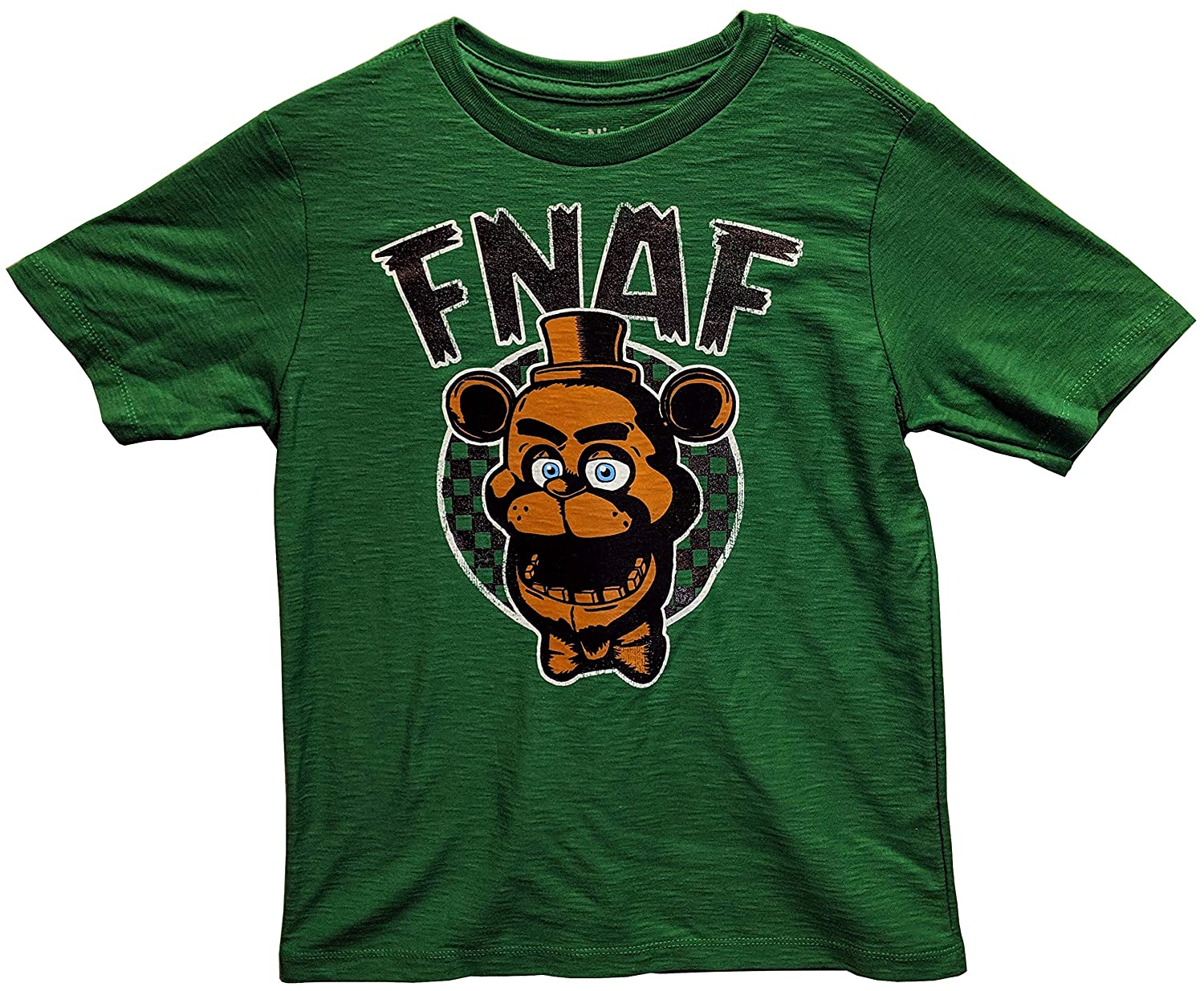 Five Nights at Freddys Shirt Green Tee for Boys