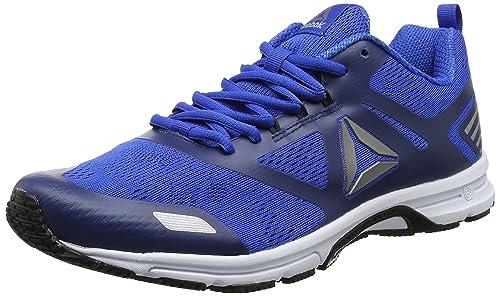 Ahary Runner, Zapatillas de Running para Hombre, Gris (Cloud Grey/Vital Blue/Silver/White), 44.5 EU Reebok