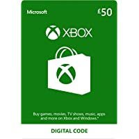 Xbox Live £50 Credit [Xbox Live Online Code]