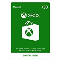 Xbox Live £50 Credit [Xbox Live Online Code] [PC Code - No DRM]