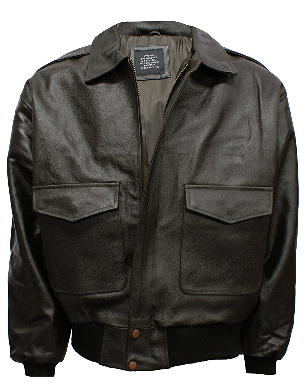 A2 Leather Flight Jacket