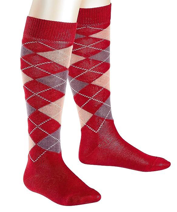 FALKE Boys Classic Argyle Knee-High Socks