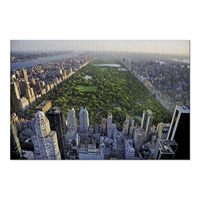 New York City, New York - Aerial View of Central Park - Photography A-91957 (Premium 1000 Piece Jigsaw Puzzle for Adults, 20x30, Made in USA!): Toys & Games [5Bkhe0303104]