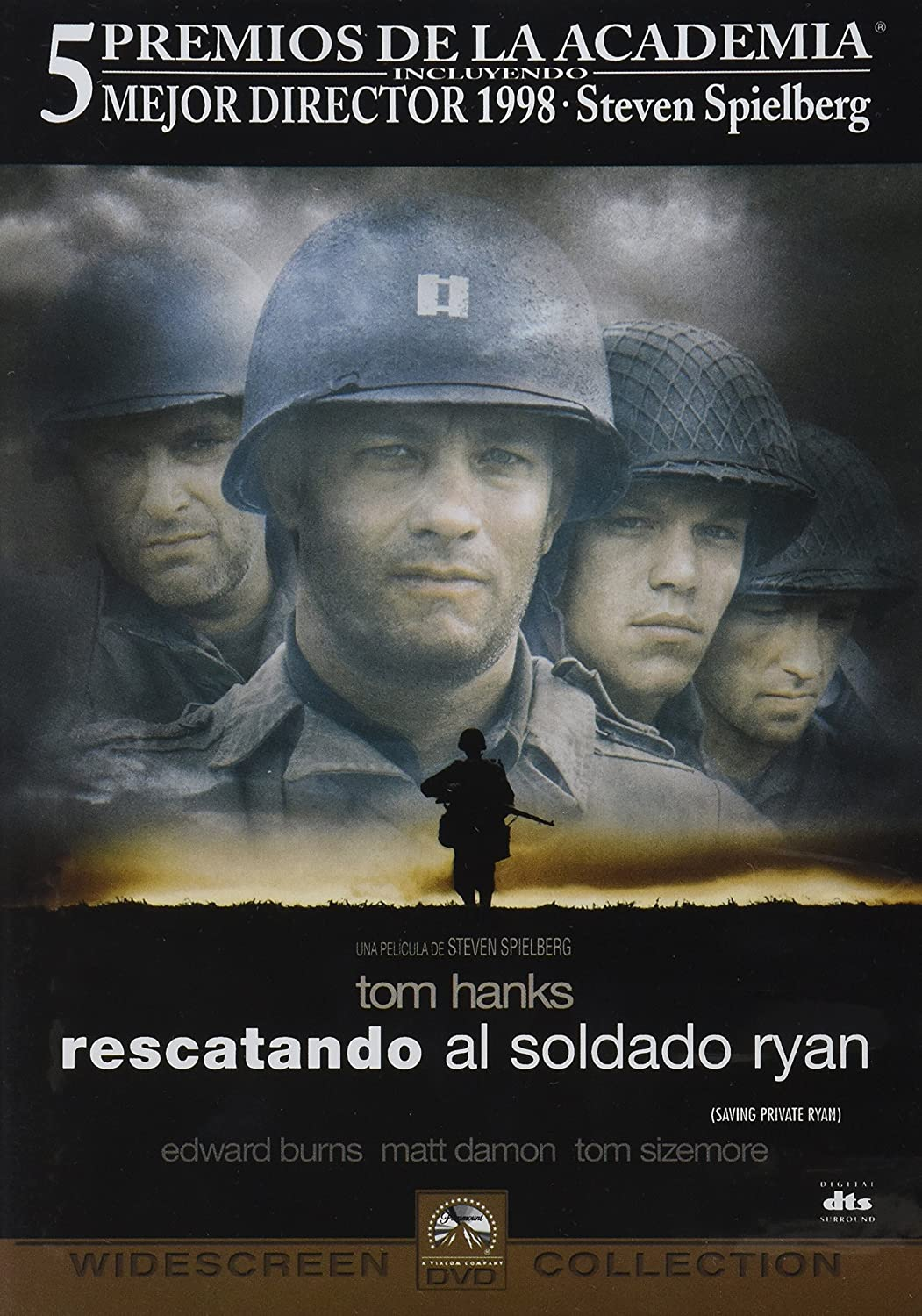 Amazon.com: Saving Private Ryan (Rescatando Al Soldado Ryan) [NTSC/REGION 4 DVD. Import-Latin America]: Tom Hanks, Edward Burns, Tom Sizemore, Vin Disel, ...