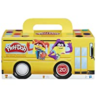 Play-Doh - Pack Super Color, 20 Botes (Hasbro A7924EU6)