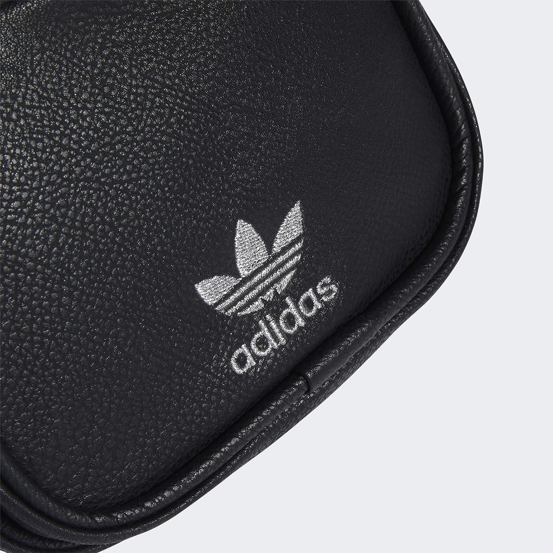 adidas Originals - Mini zaino da donna in pelle sintetica Nero/Argento. 3Bt4T