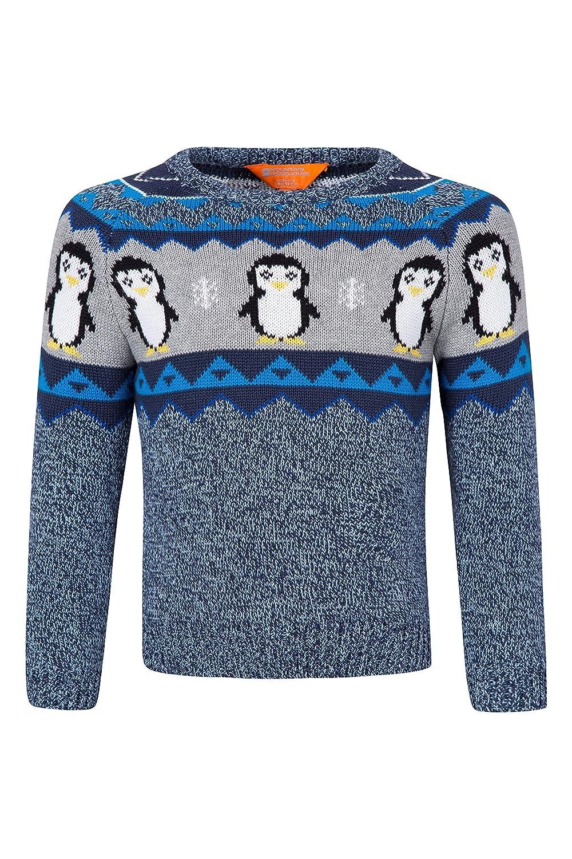 Mountain Warehouse Penguin Knitted Kids Jumper