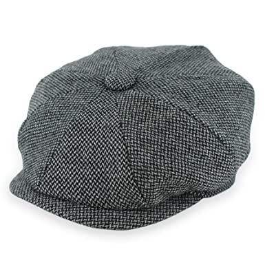 e4c195d2de813d Belfry Groby Men's Soft Wool Newsboy Cap in 4 Sizes and 5 Colors (Small,