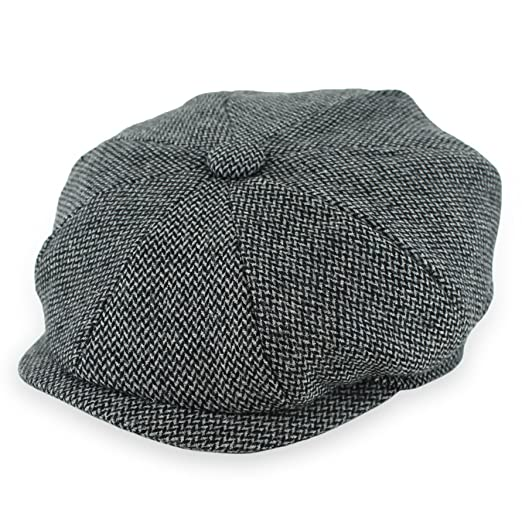 Belfry Newsboy Gatsby Men s Women s Soft Tweed Wool Cap in 8 Colors at  Amazon Men s Clothing store  22ccc6ef1a02