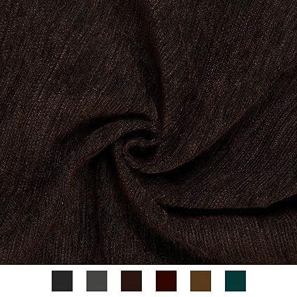 b05944313bb51 Encasa Homes Chenille Furnishing Fabric 140 cms - Plain Dyed Self Designs  for Sofa Curtain Cushion - Stripes: Amazon.in: Home & Kitchen