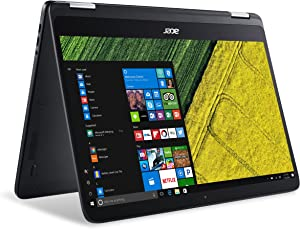 "Acer Spin 7, 14"" Full HD Touch, 7th Gen Intel Core i7, 8GB LPDDR3, 256GB SSD, Windows 10, Convertible, SP714-51-M4YD"