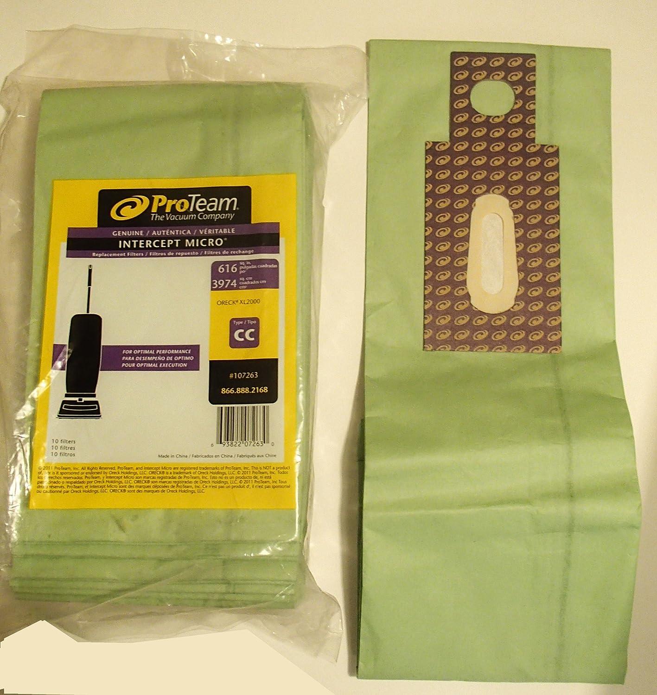 Oreck XL Vacuum Bags 16 Bags Type CC Part # CCPK8DW *Fits All Oreck XL Upright