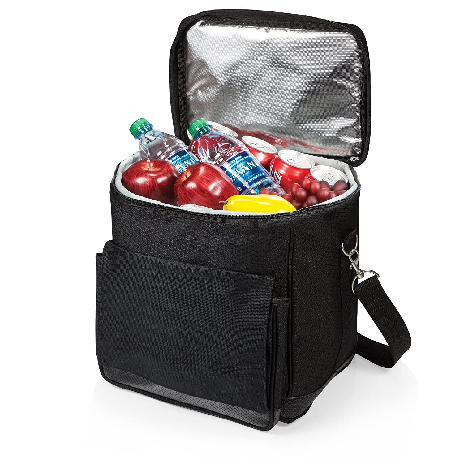 Removable Interior Dividers Allow You to Convert Wine Carrier into a Cooler