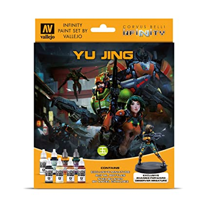 Amazon.com: Vallejo - Infinity: Yu Jing - Model Color Set ...