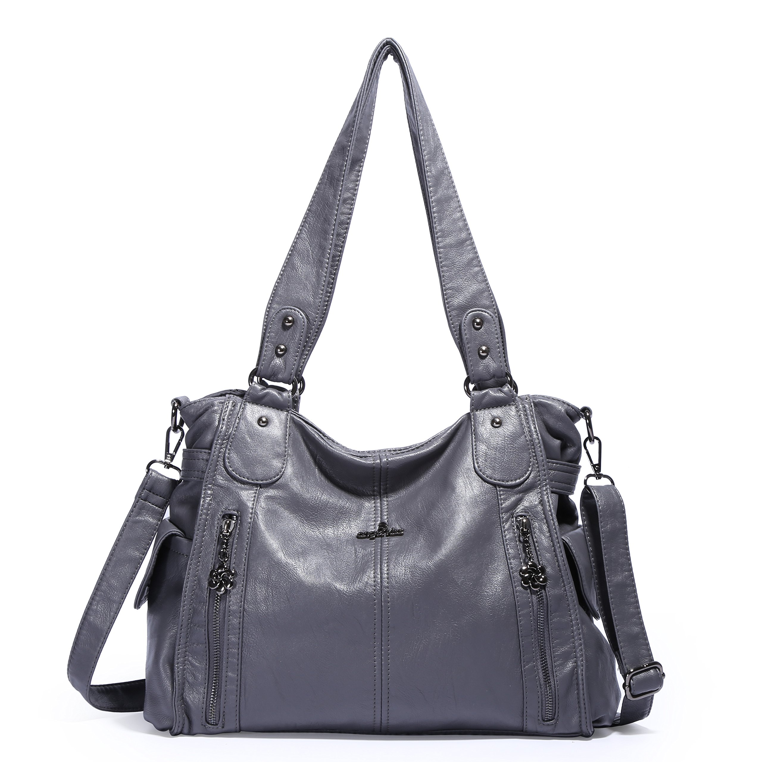 Angelkiss Large Purses and Handbags With Two Multi Pocket 1193