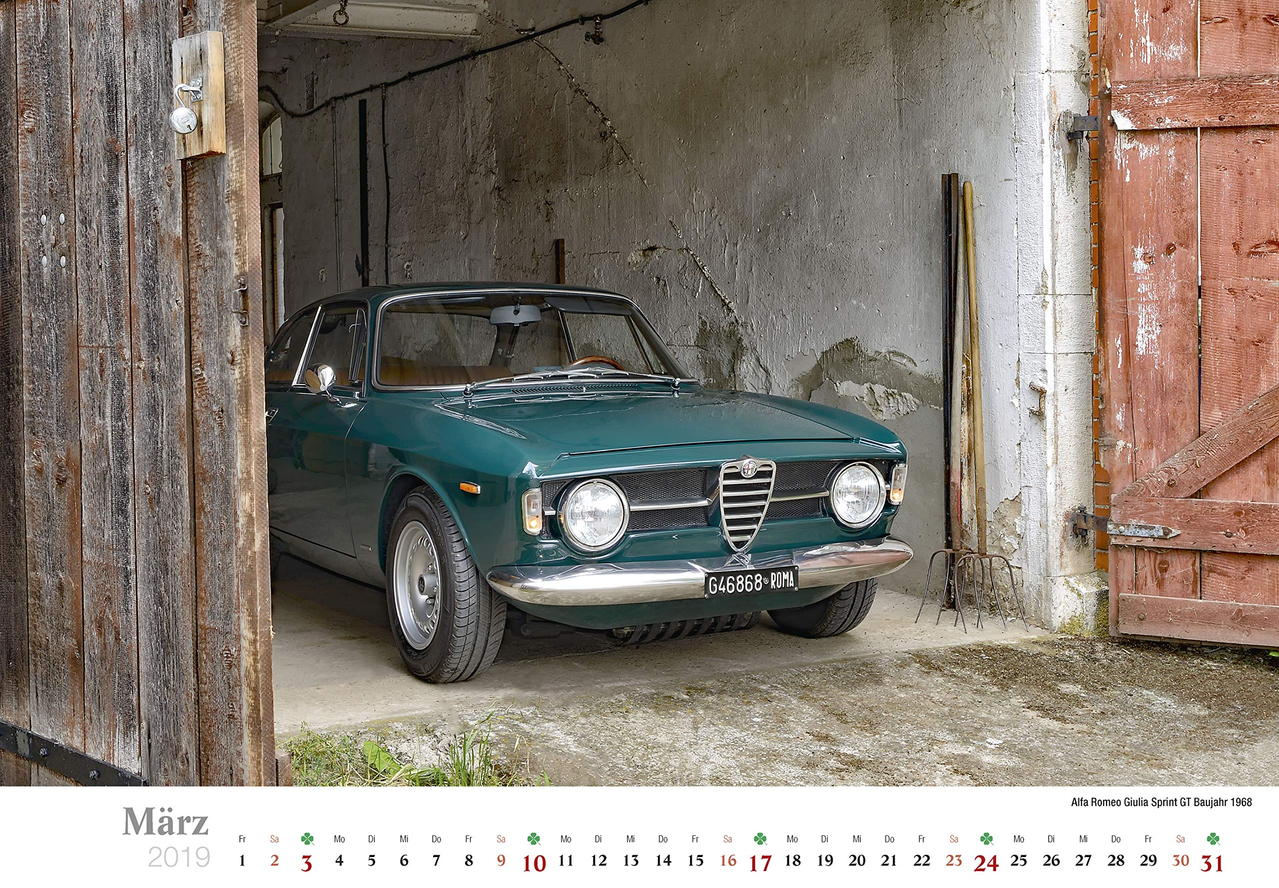 Alfa Romeo 2019: Der Kalender für Alfisti: Amazon.es: Jörg Hajt: Libros en idiomas extranjeros